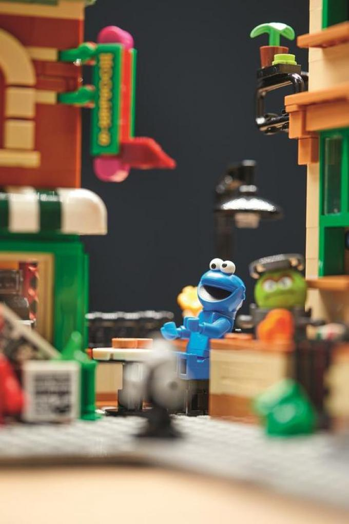 125 Sesame Street LEGO Ideas