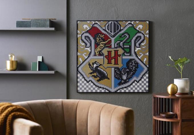 LEGO® Art Harry Potter™ Hogwarts Crests