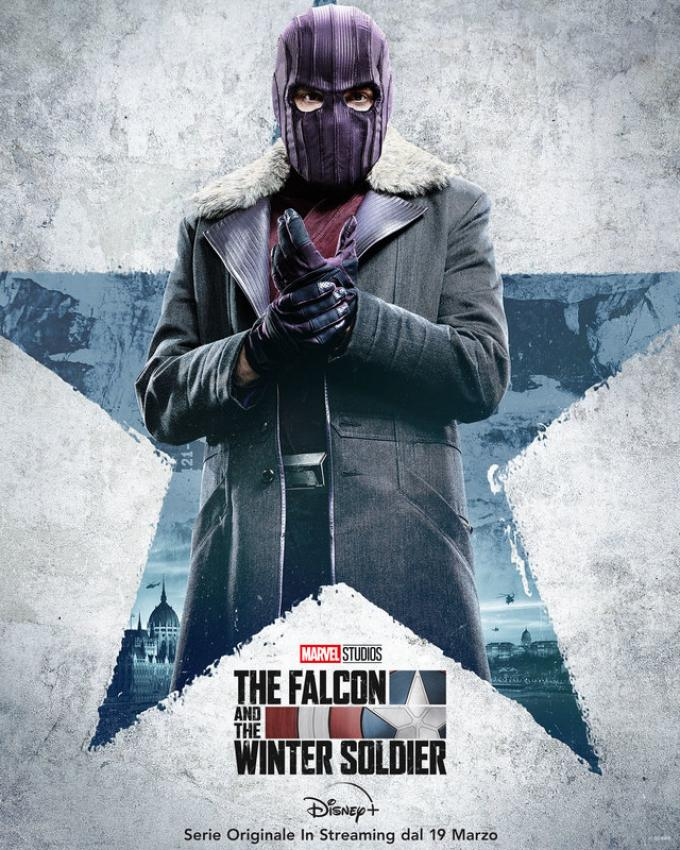 Daniel Brühl è Zemo in The Falcon & The Winter Soldier