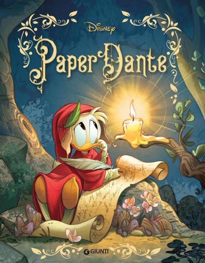 Cover PaperDante. Disegno di Giada Perissinotto e Andrea Cagol
