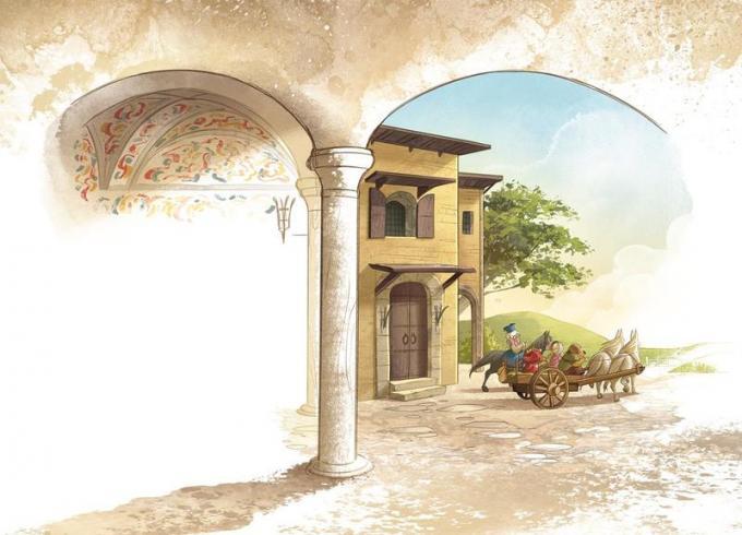 PaperDante_Villa La Loggia. Disegno di Giada Perissinotto e Andrea Cagol
