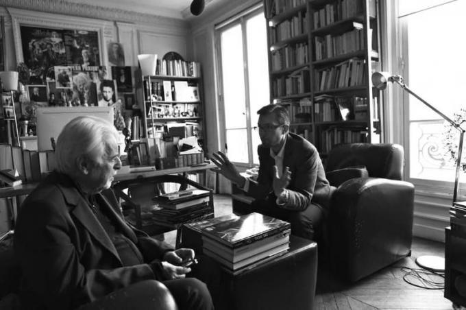 JODOROWSKY'S DUNE - Frank Pavich and Alejandro Jodorowsky 01 - photo by David Cavallo