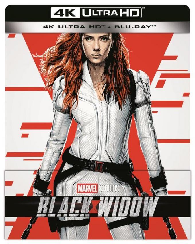 Black Widow Steelbook UHD