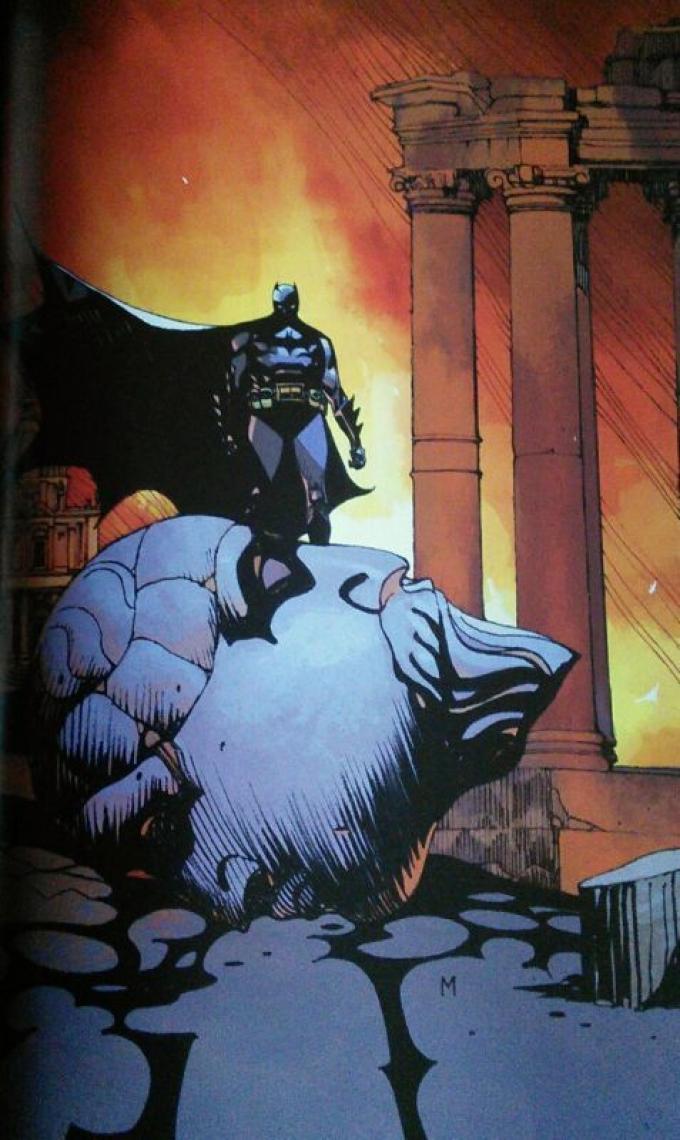 Batman - Il mondo, Ianus, Italia. Alessandro Bilotta, Nicola Mari, Giovanna Niro, Andrea Accardi.