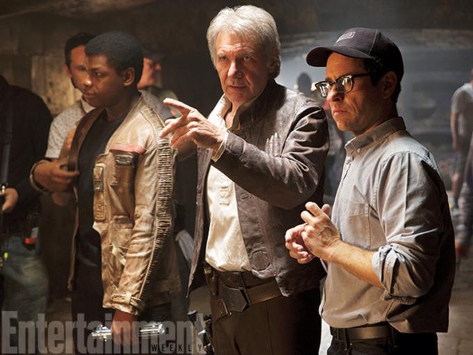 Harrison Ford e J.J. Abrams