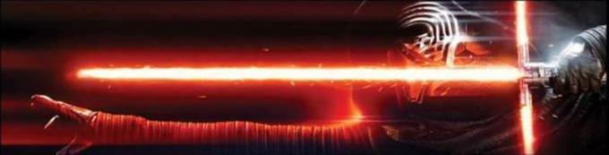 La spada laser di Kylo Ren