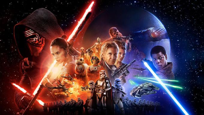 Star Wars: il risveglio della Forza - Poster orizzontale