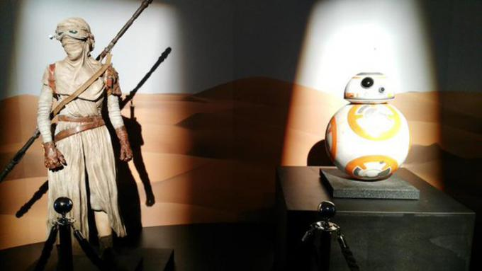 Rey e BB8 - Foto di Marco Guadalupi