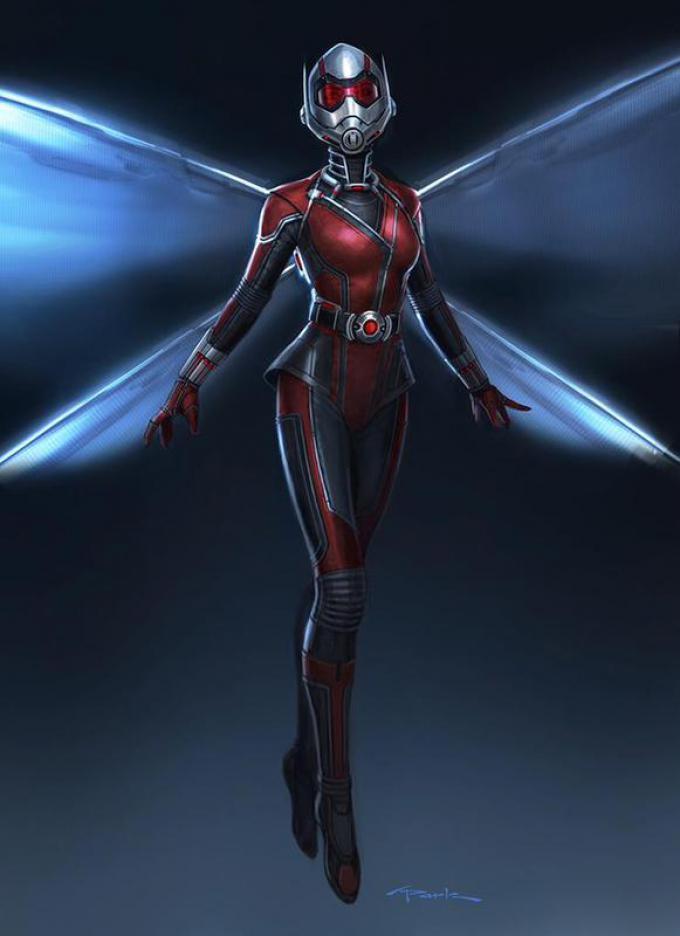 Wasp, disegno di Andy Park