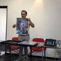 Maurizio Manzieri a Sassari Comics and Games 2016: il workshop