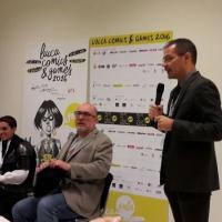 Licia Troisi incontra la stampa al PressCafè della Lucca Comics and Games 2016
