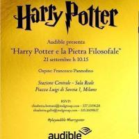 Audible presenta: la prima versione audio di Harry Potter e la pietra filosofale