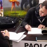Lucca Comics & Games 2017: draghi e gatti per Paolo Barbieri