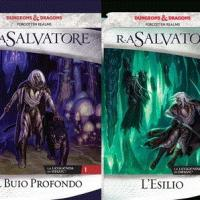 Nuovamente disponibile la Trilogia degli elfi scuri di R.A. Salvatore