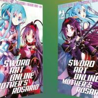 Up All Night, Sword Art Online Mother's Rosario e le altre serie BD e J-POP Manga
