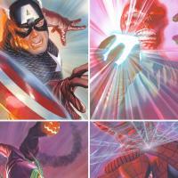 A Lucca Comics & Games 2018 le opere di Ross e Sienkiewics