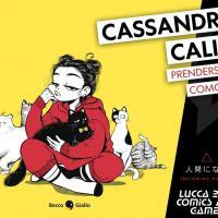 Cassandra Calin e Andrew Tsyaston a Lucca Comics & Games