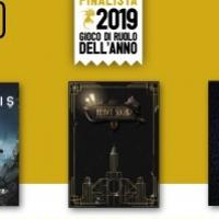Lucca Comics & Games: i finalisti del Gioco di Ruolo dell'Anno 2019