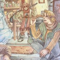 Presentazione del fumetto Percy's song di Martina Rossi a Napoli