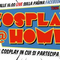 Cosplay@Home, la gara cosplay in modalità #iorestoacasa