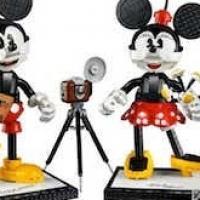 I nuovi personaggi Topolino e Minnie di LEGO Disney
