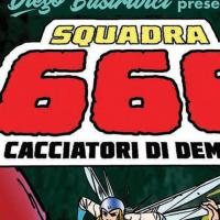 Squadra 666, in anteprima a Lucca Comics & Games il fumetto di Alfredo Castelli dal film con Lillo