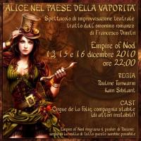 Alice dalla vaporità al teatro (virtuale)
