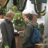 La prima foto di Rhys Ifans sul set di The Amazing Spider-Man