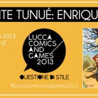 Enrique Fernández con Tunué a Lucca Comics and Games 2013