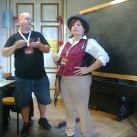 Drew Karpyshyn a Lucca Games 2014!