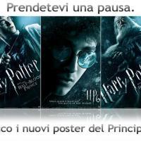 Tre nuovi teaser poster per Harry Potter e il Principe Mezzosangue