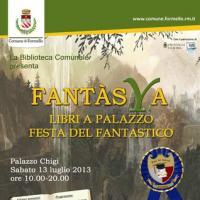Fantàsya Libri a Palazzo 2013: tra libri, cultura e antiche mura