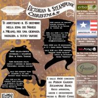 Victorian and Steampunk Christmas a Milano