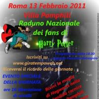 Roma: 1° raduno nazionale dei fan di Harry Potter